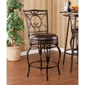 Wildon Home   Jacobson 25.25'' Swivel Bar Stool with Cushion