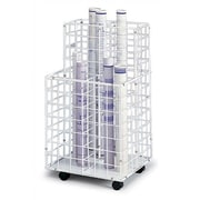 Safco Products Wire Roll Files Filing Cart