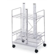 Safco Products Wire Roll File Filing Cart
