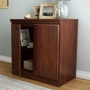 South Shore Morgan 31.25'' Storage Cabinet; Royal Cherry