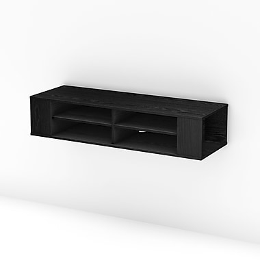 South Shore City Life 48'' TV Stand; Black Oak