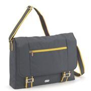 Lug Orange Label Messenger Bag; Fog Gray