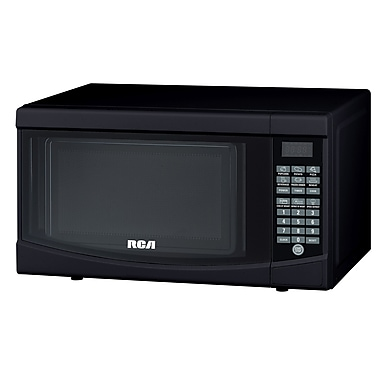RCA Products 0.7 Cu. Ft. 700W Countertop Microwave; Black