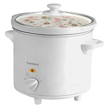 Continental Electrics 4-Quart Oval Slow Cooker