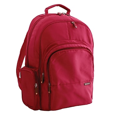 Frommer's Echo Laptop Backpack; Crimson Red