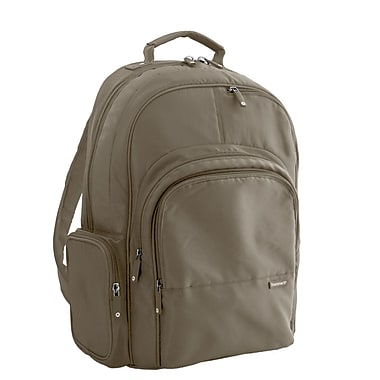 Frommer's Echo Laptop Backpack; Taupe Brown
