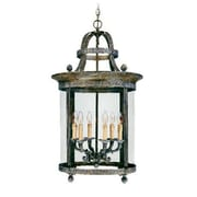 World Imports Lighting French Country 6 Light Outdoor Hanging Lantern