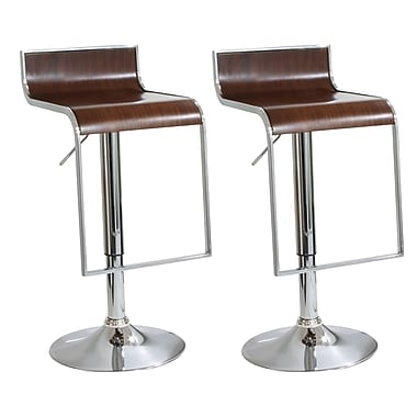 Buffalo Tools AmeriHome 23'' Adjustable Swivel Bar Stool (Set of 2)
