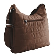Lug Cable Car Cross Body Bag; Chocolate Brown
