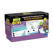 Educational Insights Hot Dots Laugh It Up! Vocabulary Cards - Prefixes and Suffixes