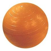 Cando Inflatable Exercise Ball (Retail Box); 18'' / Yellow