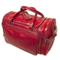 Floto Imports Torino 20'' Leather Travel Duffel; Tuscan Red