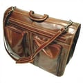Floto Imports Venezia Leather Garment Bag; Vecchio Brown