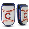 Gamewear MLB Leather Cell Phone Holder; Chicago Cubs