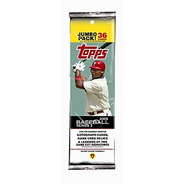 Topps MLB 2009 Trading Cards - Series 2 Value Pack (18 Packs)