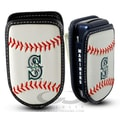 Gamewear MLB Leather Cell Phone Holder; Seattle Mariners