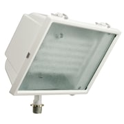 Lithonia Lighting Standard 1 Light Outdoor Spot Light; White