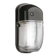 Lithonia Lighting Outdoor Wall Pack 1 Light Sconce; Bronze