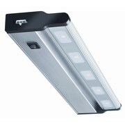 Lithonia Lighting 18'' LED Under Cabinet Bar Light; Brush Nickel
