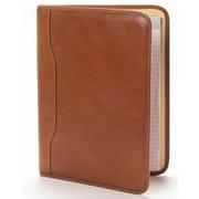 Clava Leather Tuscan Slim Padfolio; Tuscan Tan