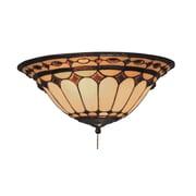 Landmark Lighting Diamond Ring 2-Light Fan Kit / Ceiling Mount