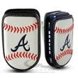 Gamewear MLB Leather Cell Phone Holder; Atlanta Braves