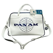 Pan Am Originals Orion Satchel; Vintage White