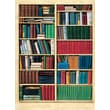 Brewster Home Fashions Ideal Decor Biblioteque Wall Mural