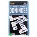 POOF-Slinky Double 12 Dominoes Game in Tin Case