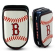 Gamewear MLB Leather Cell Phone Holder; Boston Red Sox