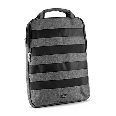 Lug Slider Laptop Pouch; Midnight Black