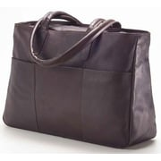 Clava Leather Colored Vachetta Luggage Tote Bag; Vachetta Caf