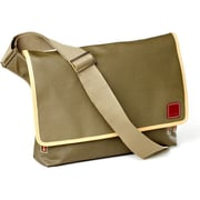 Clava Leather Carina Messenger Bag; Army