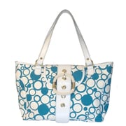 Floto Imports Resort Bollicine Tote Bag; Blue