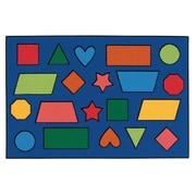 Kids Value Rugs Color Shapes Kids Rug; 3' x 4'6''