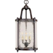 World Imports Lighting Old World Classic 3 Light Outdoor Hanging Pendant