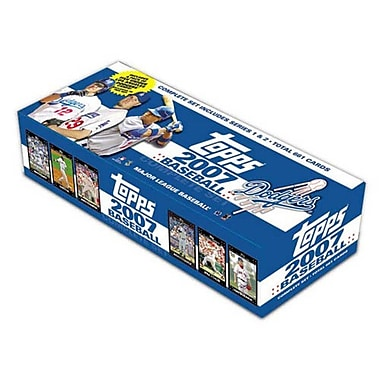 Topps MLB 2007 Factory Trading Card Set - Los Angeles Dodgers (Set of 666)