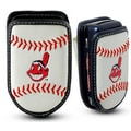 Gamewear MLB Leather Cell Phone Holder; Cleveland Indians