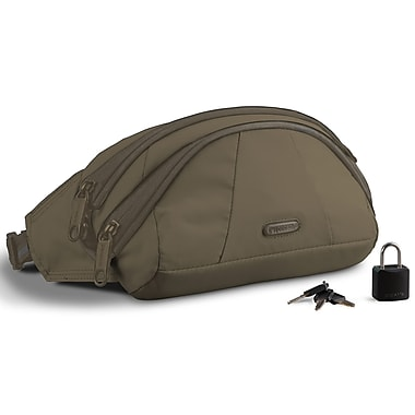 Pacsafe StashSafe 100 Anti-Theft GII Hip Pack; Jungle Green