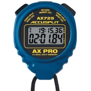 Accusplit Professional Dual Split Stopwatch; Blue