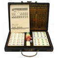 Oriental Furniture Antique Style Mahjong Set