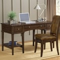 Hillsdale Gresham Writing Desk and Chair Set; Cherry