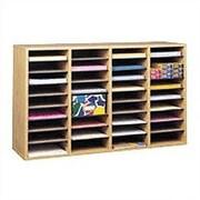 Safco Products Wood/Laminate Literature Sorter; Oak