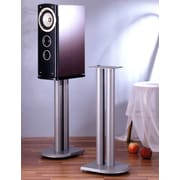 VTI UF Series 24'' Fixed Height Speaker Stand (Set of 2); Silver