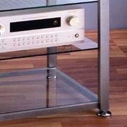 VTI EGR Series 4-Shelf Audio Rack; Silver