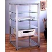 VTI EGR Series 6-Shelf Audio Rack; Silver