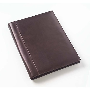 Clava Leather Tuscan Open Padfolio in Caf