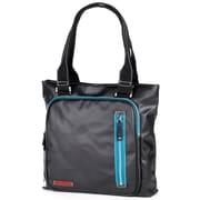 Clava Leather Carina Square Pocket Tote Bag; Black