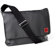 Clava Leather Carina Messenger Bag; Black