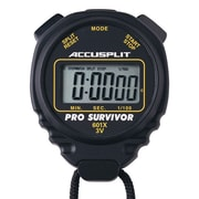Accusplit Professional Survivor Stopwatch; Black